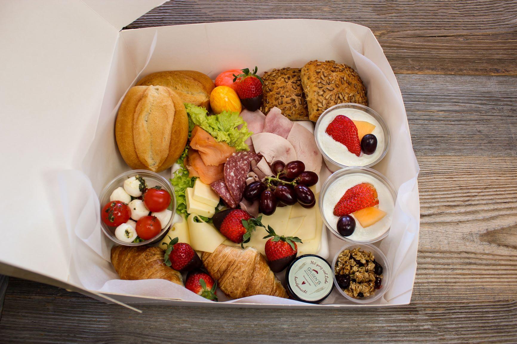 Frühstücksboxen für die Ostertage