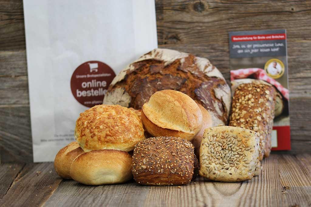 Brot, Brötchen und mehr jetzt online bestellen!