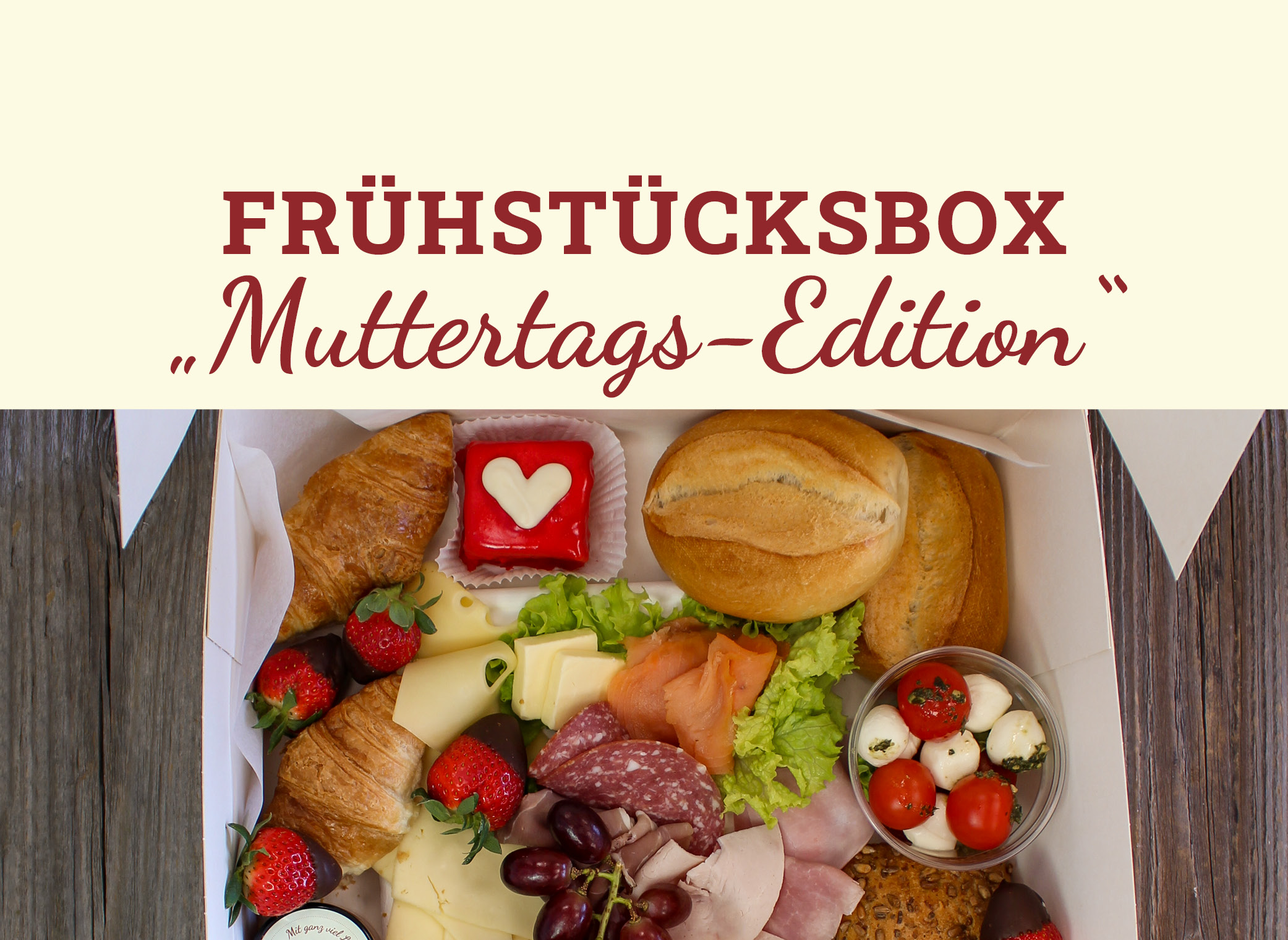 Frühstücksbox zu Muttertag