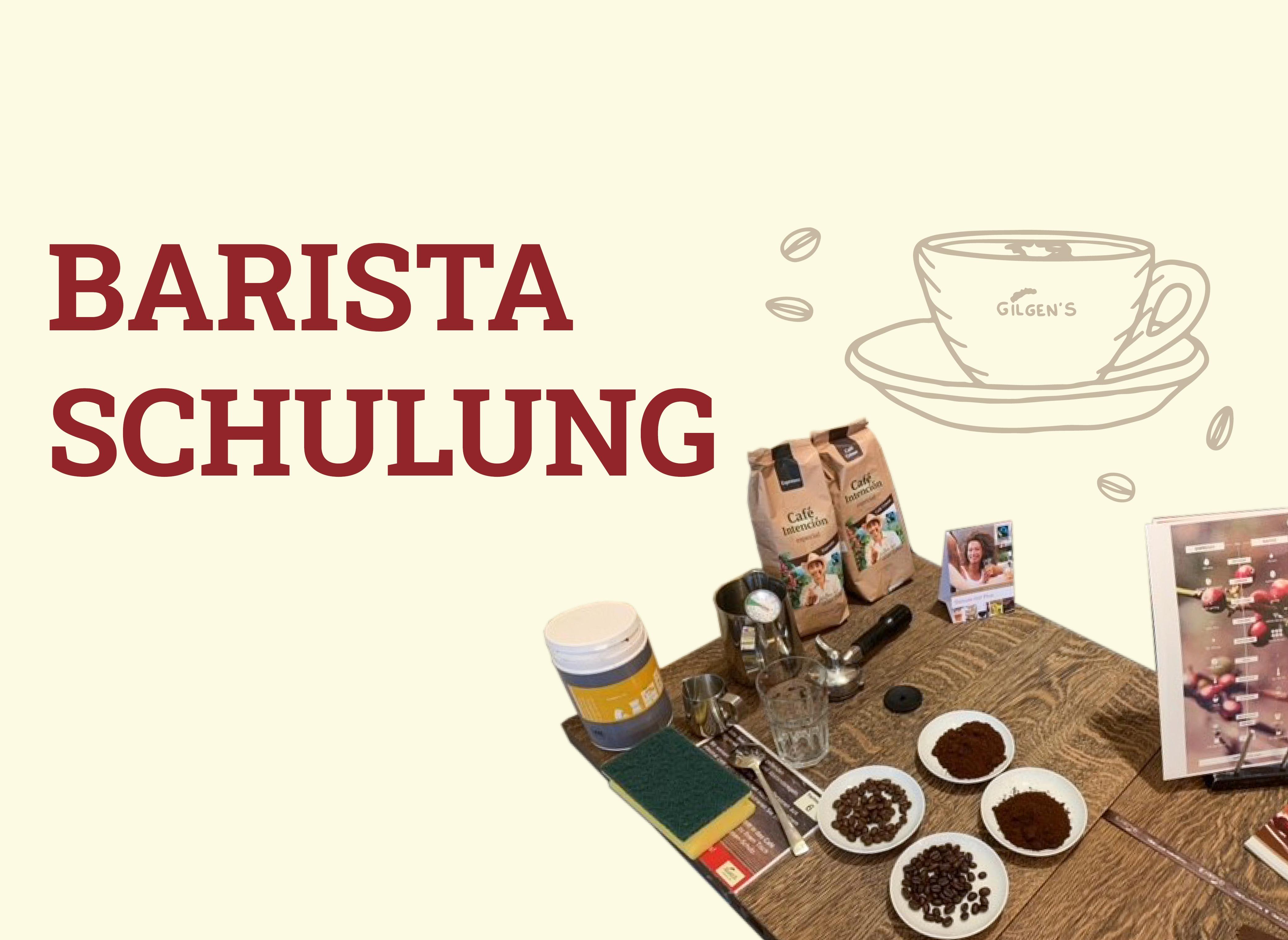 Wir lieben Kaffee – unsere Barista Schulung