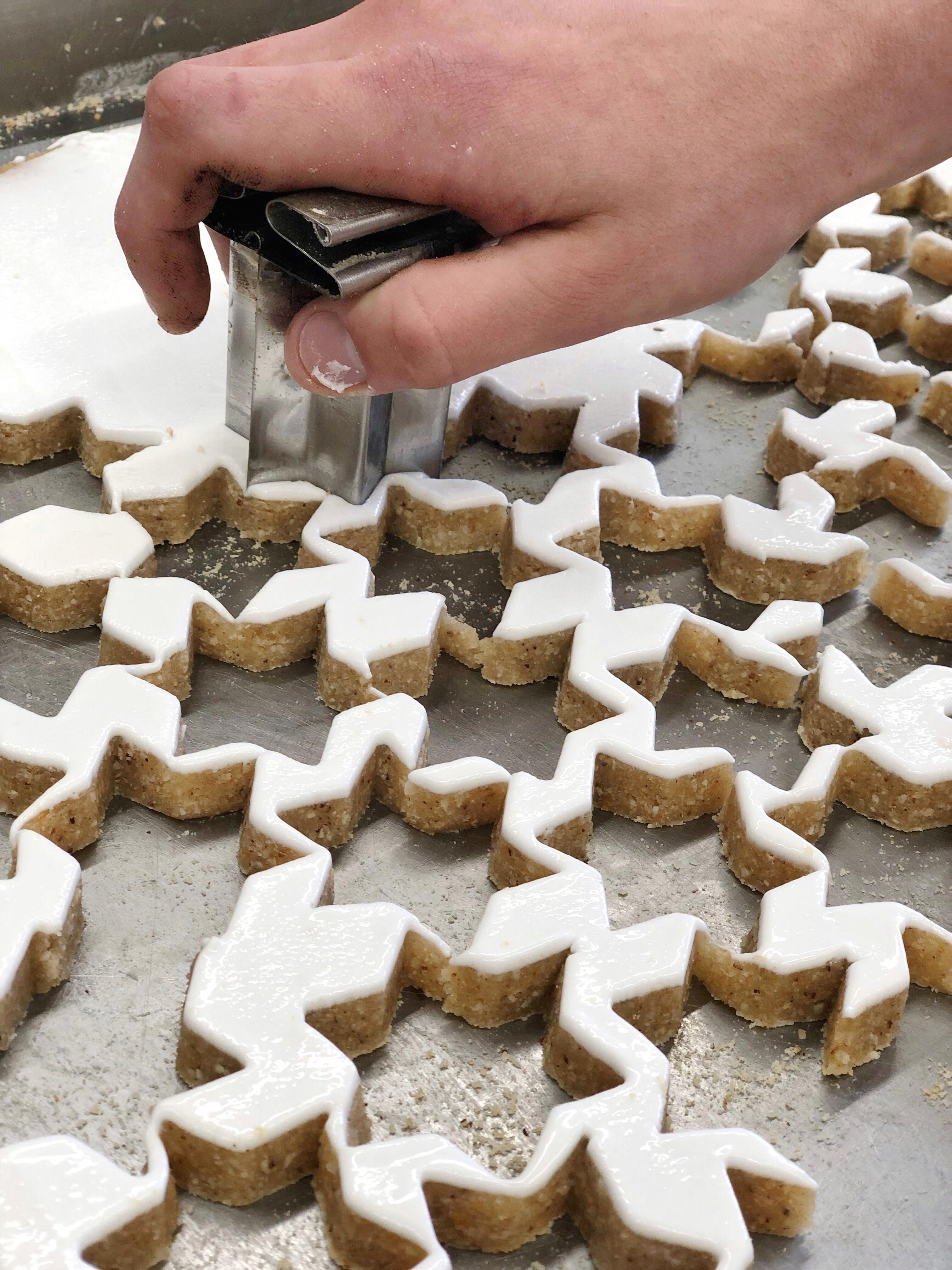 In der Weihnachtsbäckerei duftet es bei uns ganz wunderbar