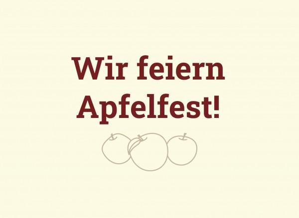 Apfelfest-Newsroom
